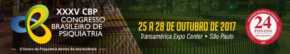 XXXV Congresso Brasileiro de Psiquiatria