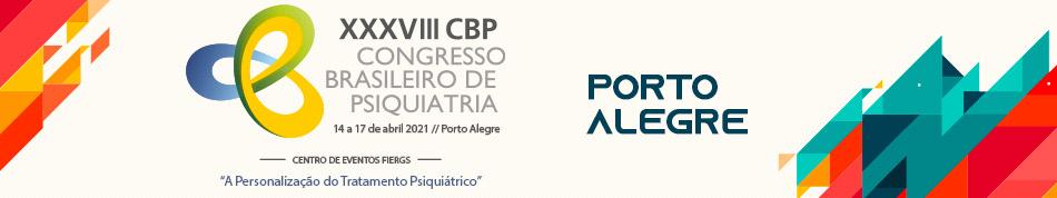 XXXVIII Congresso Brasileiro de Psiquiatria